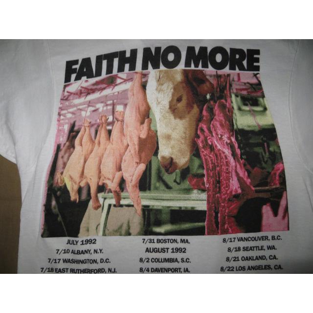 画像4: 【過去に販売した商品です】古着 FAITH NO MORE フェイスノーモア Midlife Crisis ツアー Tシャツ 90's/130529