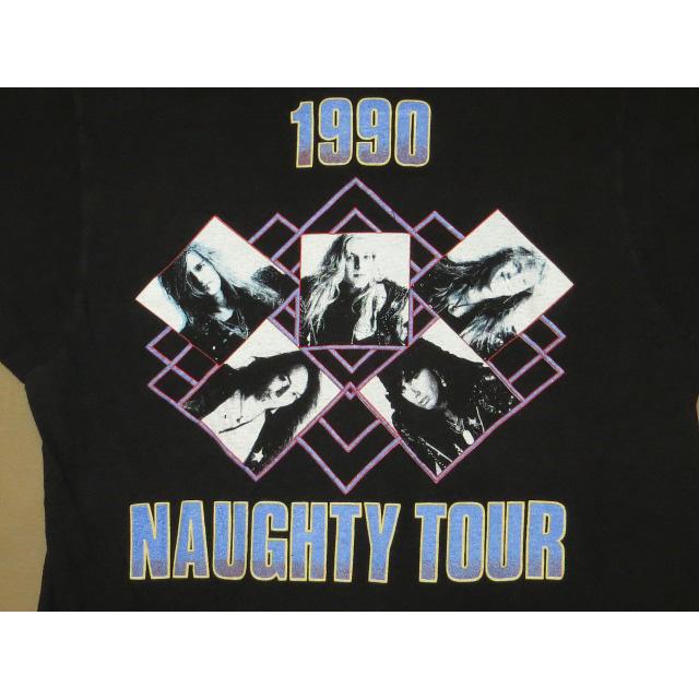 画像4: 【過去に販売した商品です】古着 DANGER DANGER デンジャーデンジャー NAUGHTY ツアー Tシャツ 90's/130614