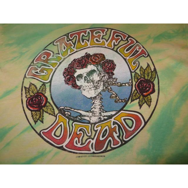 画像3: 【過去に販売した商品です】古着 GRATEFUL DEAD グレイトフルデッド スカル&ローズ タイダイ Tシャツ 80's/130701