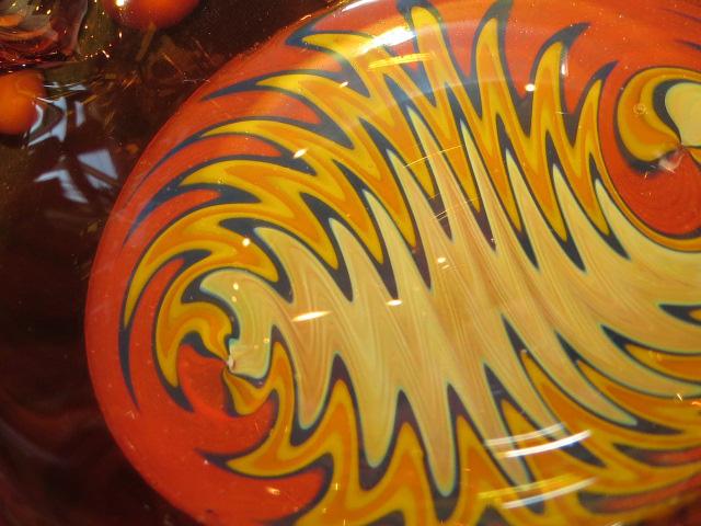 画像4: 新品 グラスアート GLASS ARTS ハンドメイド 灰皿 ashtray アシュトレイ 15-MAR-8 / 150326