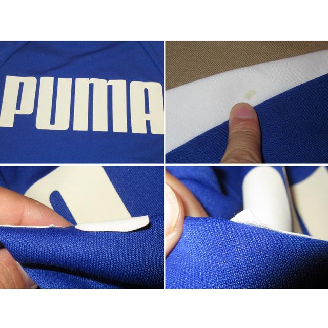 画像5: 古着 PUMA プーマ ジャージ ブルゾン BLUE/WHT 00's /151006