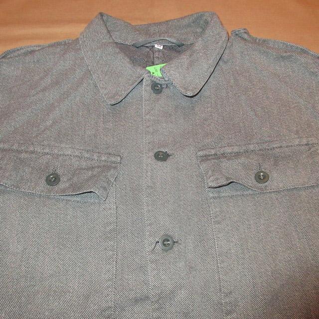画像3: 古着 SWISS ARMY スイス軍 ミリタリー デニム シャツジャケット 80's /160310