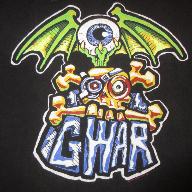 画像3: 【過去に販売した商品です】古着 GWAR グワァー スラッシュメタル Tシャツ 90's/160312