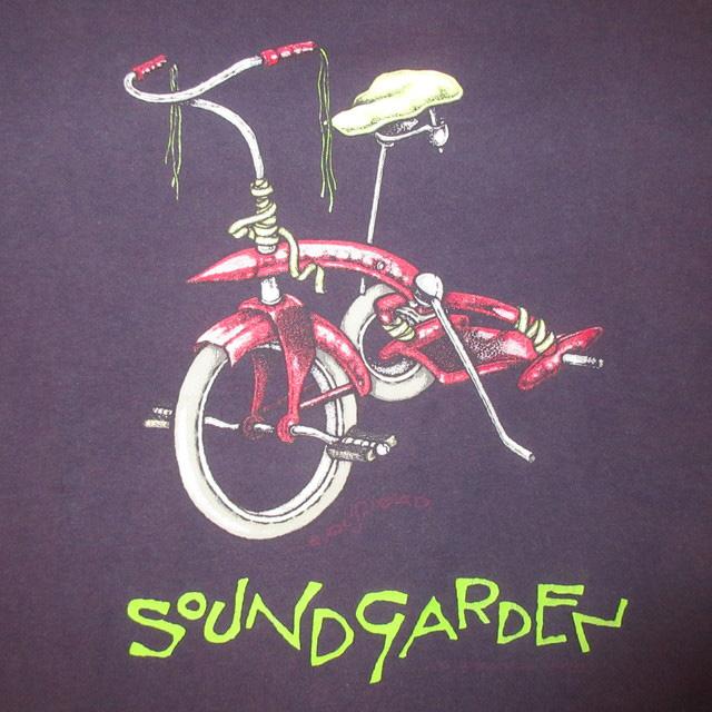 画像3: 【過去に販売した商品です/SOLD OUT】古着 SOUNDGARDEN サウンドガーデン PUSHEAD パスヘッド Tシャツ 90's/161024