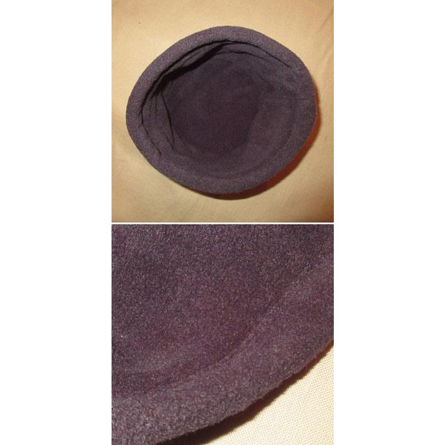 画像3: 古着 ACORN エーコーン アコーン 総柄 フリース CAP 帽子 BLK 00's / 161212