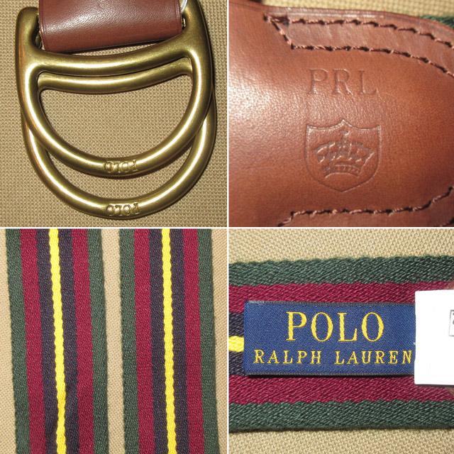 画像3: 新品 Ralph Lauren ラルフローレン ストライプ リングベルト 00's / 170105