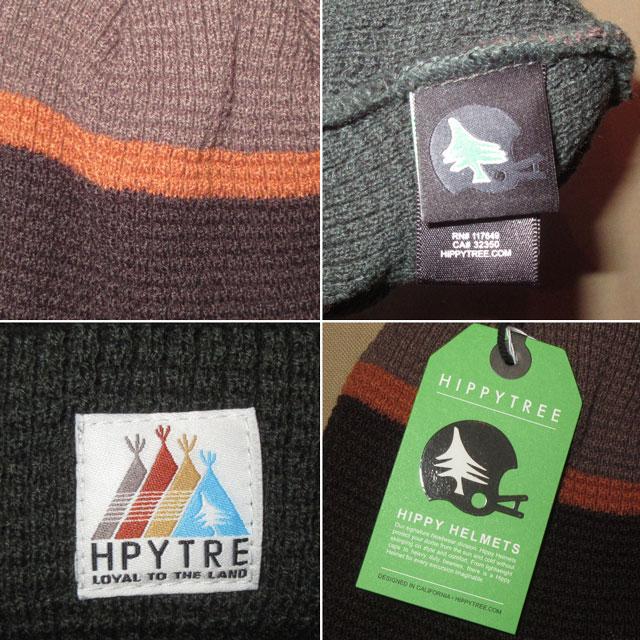 画像3: 新品 HIPPYTREE ヒッピーツリー ニットキャップ CAP 帽子 BRW/GRN 00's / 170128
