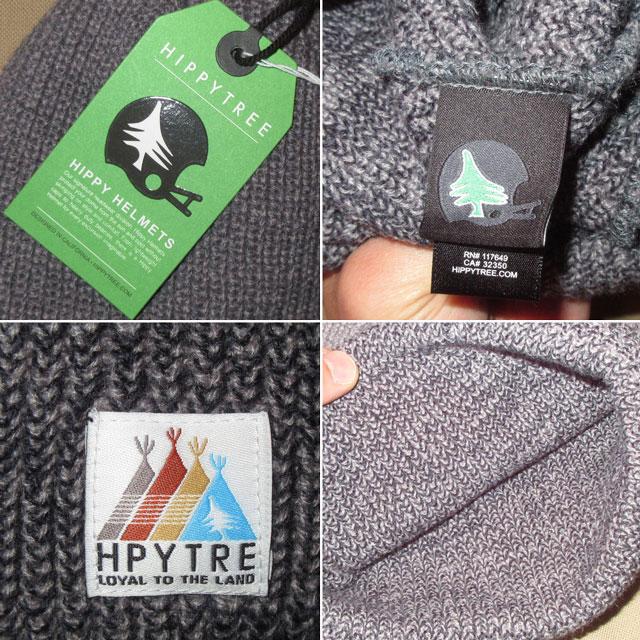 画像3: 新品 HIPPYTREE ヒッピーツリー ニットキャップ CAP 帽子 GRY 00's / 170128
