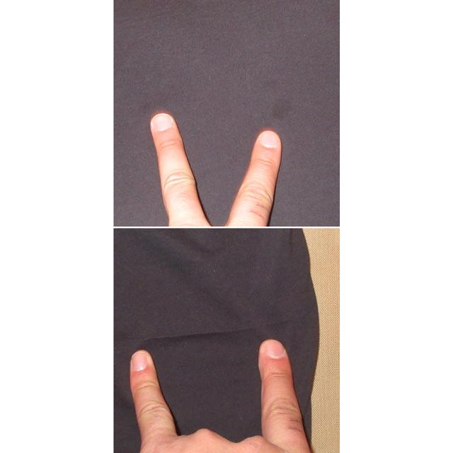 画像5: 古着 prana プラナ アウトドア カットソー アンダーウェア 長袖Tシャツ BLK 00's / 170130