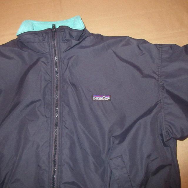 画像3: 古着 patagonia パタゴニア シェルドシンチラ シェルジャケット アウトドア BLK USA製 90's /170209