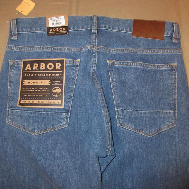 画像3: 新品 ARBOR アーバー スリムフィット スキニー ストレッチ デニム パンツ ジーンズ BLUE 00's /170403