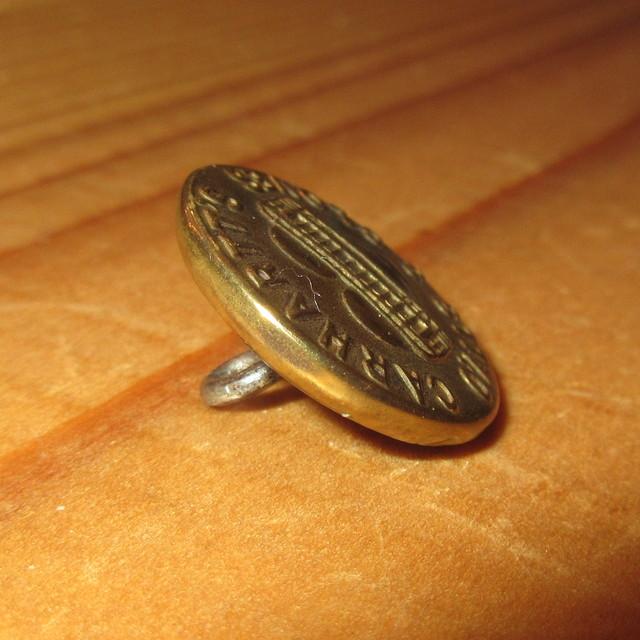 画像2: 古着 CARHARTT カーハート チェンジボタン 1 ワークブランド ヴィンテージ アンティーク 40's / 170407