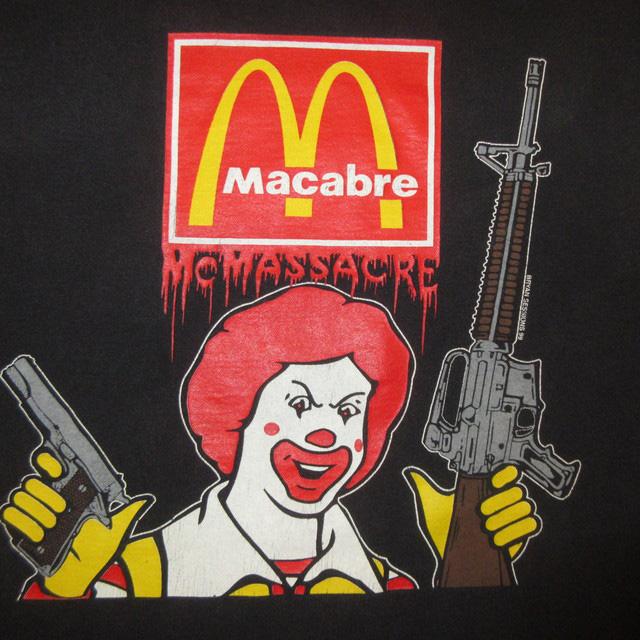 画像3: 【過去に販売した商品です/SOLD OUT】古着 MACABRE  Tシャツ 00's/170410