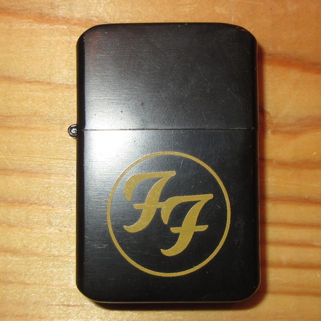 画像1: 【店頭引取りのみ】FOO FIGHTERS フーファイターズ touchlite ZIPPOタイプ ライター 00's / 170426