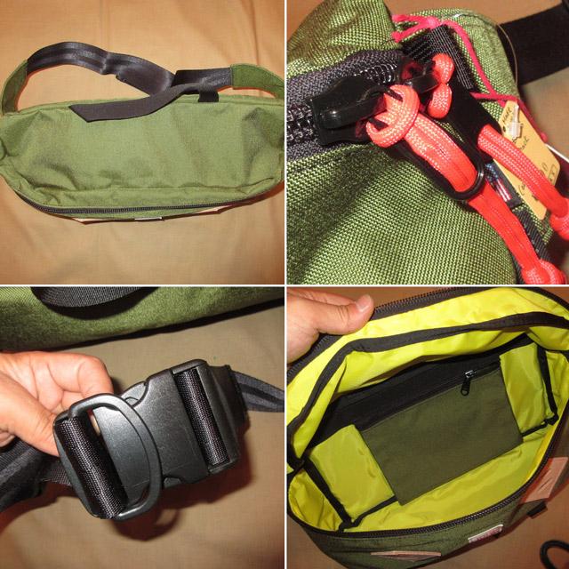 画像5: 新品 USA製 TOPO DESIGNS トポデザイン HIP PACK ヒップパック ブタ鼻 ウエストバッグ BAG OLV 00's /170511