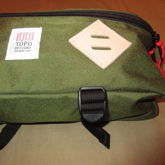 画像3: 新品 USA製 TOPO DESIGNS トポデザイン HIP PACK ヒップパック ブタ鼻 ウエストバッグ BAG OLV 00's /170511