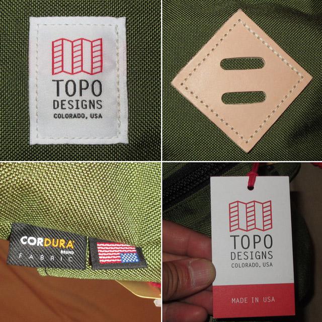 画像4: 新品 USA製 TOPO DESIGNS トポデザイン HIP PACK ヒップパック ブタ鼻 ウエストバッグ BAG OLV 00's /170511