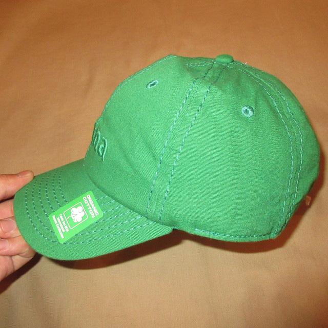 画像2: 新品 prana プラナ オーガニックコットン キャップ アウトドア CAP 帽子 GRN 00's / 170515