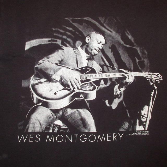 画像3: 古着 WES MONTGOMERY ウェスモンゴメリー ジャズ Tシャツ BLK 90's / 170531