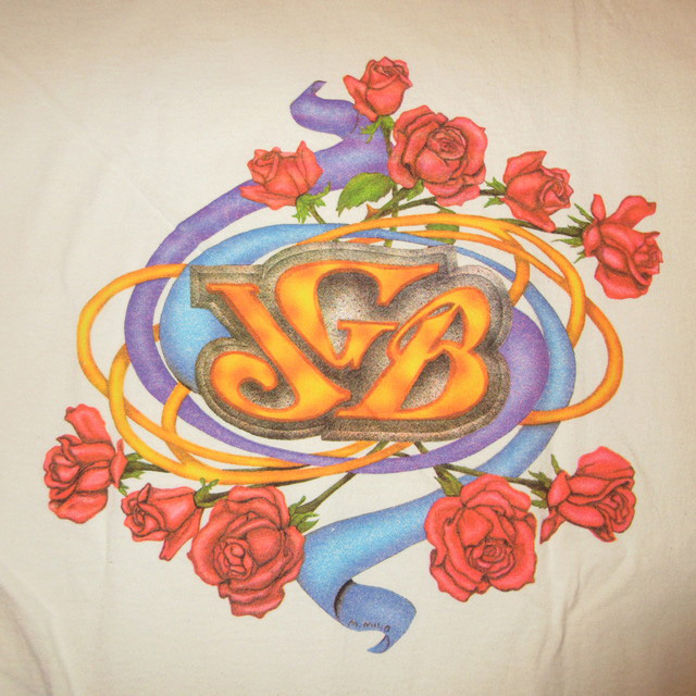 画像4: 古着 JERRY GARCIA BAND ジェリーガルシアバンド Tシャツ WHT 90's / 170531