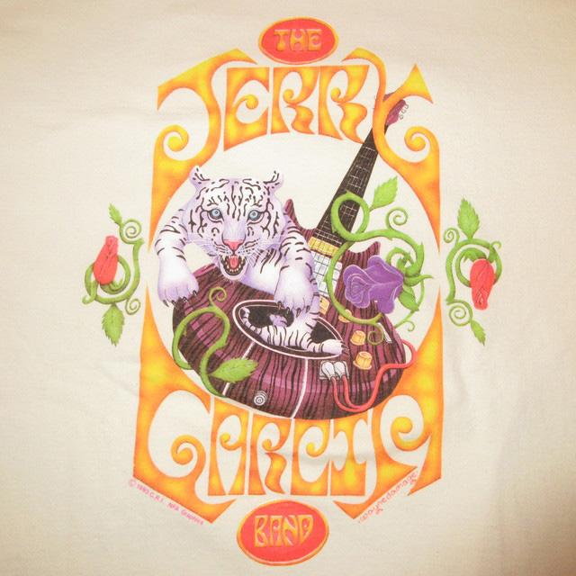 画像3: 古着 JERRY GARCIA BAND ジェリーガルシアバンド Tシャツ WHT 90's / 170531