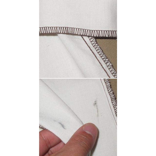 画像5: 古着 KENNINGTON ケニントン 鳥 花 刺繡 プルオーバー 7分袖 民族シャツ WHT 70's /170604
