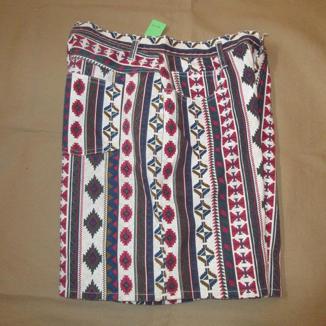 画像3: 古着 STEFANO ネイティヴ柄 インディアン柄 ショートパンツ ショーツ MIX 90's / 170605
