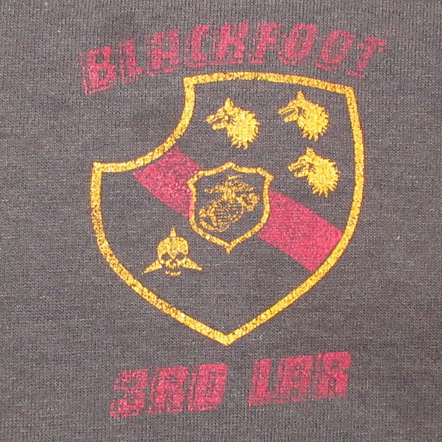 画像4: 古着 USMC マリンコープ アメリカ海兵隊 ミリタリー FAR EAST TOUR Tシャツ BLK 80's / 170606