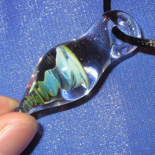 画像3: 新品 グラスアート GLASS ARTS ハンドメイド ガラス ペンダント 17-MCH-4 / 170608