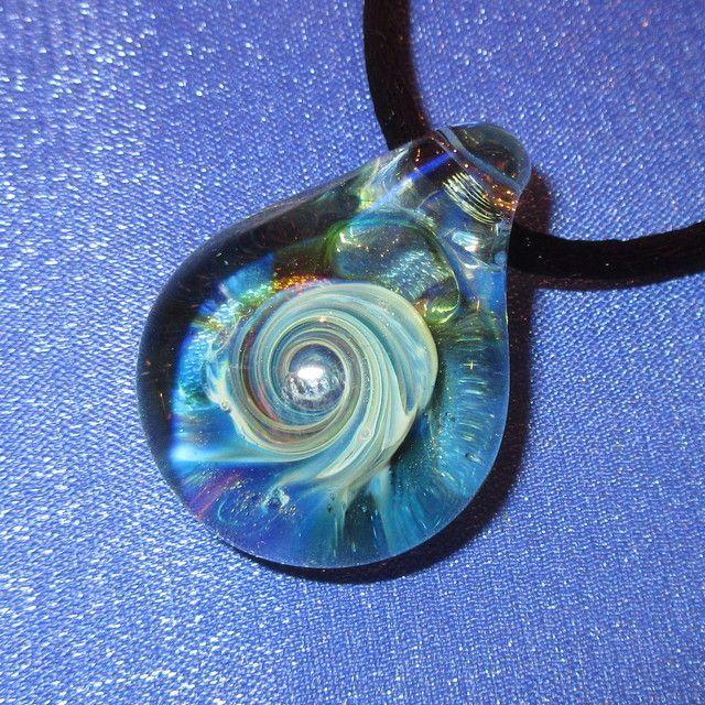 画像1: 新品 グラスアート GLASS ARTS ハンドメイド ガラス ペンダント 17-MCH-2 / 170608