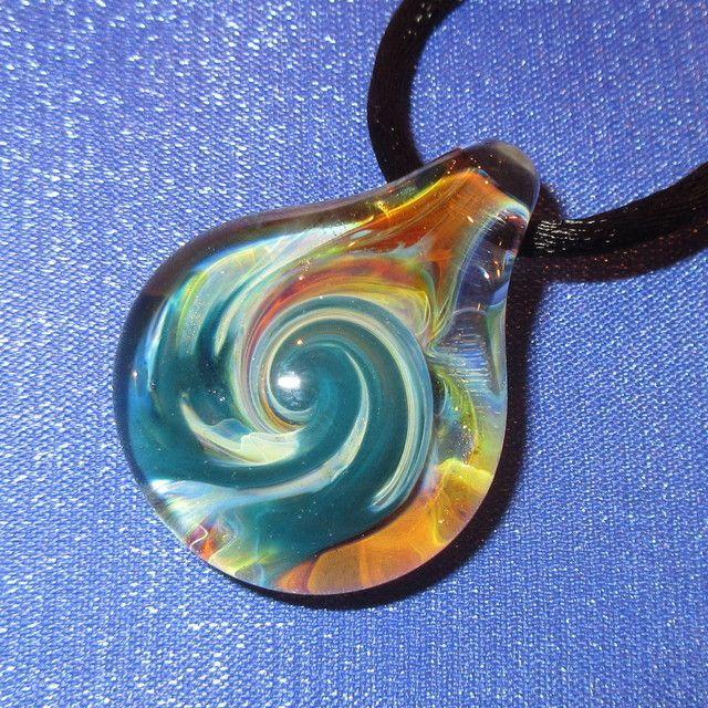 画像1: 新品 グラスアート GLASS ARTS ハンドメイド ガラス ペンダント 17-MCH-3 / 170608