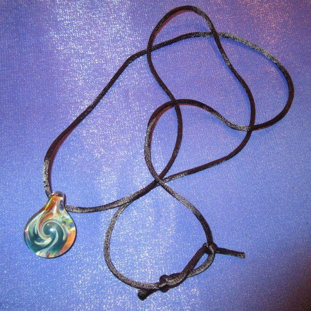 画像2: 新品 グラスアート GLASS ARTS ハンドメイド ガラス ペンダント 17-MCH-3 / 170608