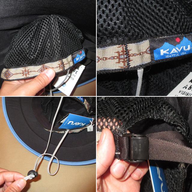 画像3: 新品 KAVU カブー chillba チルバ ハット HAT アウトドア RED/BLUE USA製 00's / 170615