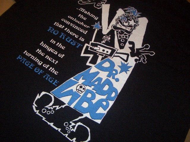 画像4: Dr.Maddvibe×Chibian Tシャツ AGE ブラック ★アンジェロムーア FISHBONE