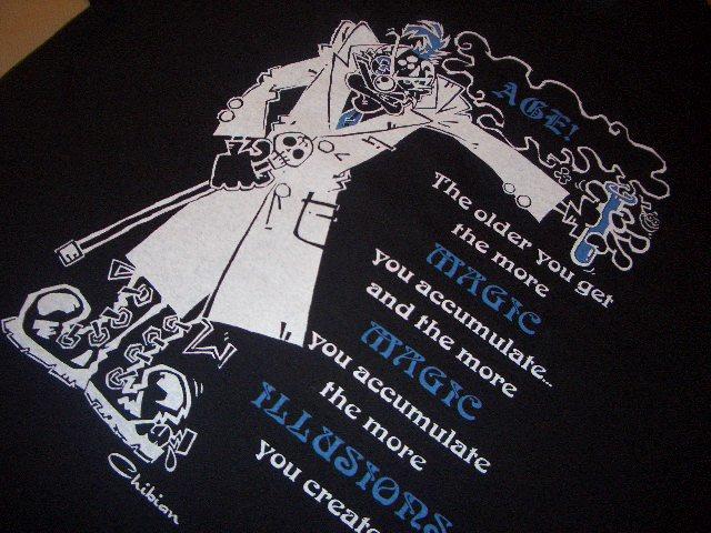 画像3: Dr.Maddvibe×Chibian Tシャツ AGE ブラック ★アンジェロムーア FISHBONE