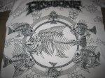 画像3: FISHBONE フィッシュボーン PUSHEAD 総柄 1991年 Tシャツ (3)