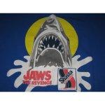 画像2: 【過去に販売した商品です】古着 JAWS THE REVENGE ジョーズ4 復讐編 Tシャツ 映画 ホラー 80's/120530 (2)