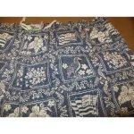 画像3: 古着 reyn spooner レインスプーナー ハワイアン スイム ショートパンツ BLUE 柄 ハワイ製 90's/130706 (3)