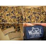 画像3: 古着 Woolrich ハンティングカモ ウールパンツ BEI USA製 80's /131218 (3)