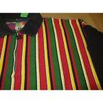 画像3: 古着 CROSS COLOURS クロスカラーズ ラスタカラー H/Z ラガーシャツ USA製 90's /140327 (3)