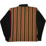 画像2: 古着 CROSS COLOURS クロスカラーズ ラスタカラー H/Z ラガーシャツ USA製 90's /140327 (2)