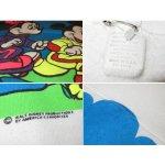 画像4: 古着 ミッキーマウス&ミニーマウス ジョギング 半袖 スウェット WHT 80's /140515 (4)