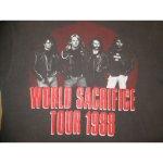 画像4: 【過去に販売した商品/在庫なし/SOLD OUT】古着 SLAYER スレイヤー WORLD SACRIFICE TOUR Tシャツ 80's / 140922 (4)