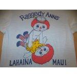 画像3: 古着 Raggedy ANNS' FXXK パロディ エロプリント Tシャツ BLUE 80's / 150616 (3)