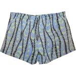 画像2: 古着 CALIFORNIA BLUES スイム ビーチ ショーツ ショートパンツ BLUE柄 90's / 150716 (2)