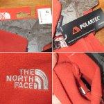 画像3: 新品 THE NORTH FACE ノースフェイス POLARTEC フリース グローブ 手袋 アウトドア ORG 00's / 160115 (3)