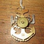 画像2: U.S.NAVY アメリカ海軍 ブローチ アンカー アンティーク /160205 (2)