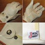 画像3: デッドストック Justin ジャスティン レザー グローヴ 手袋 パッケージ付き 80's / 150117 (3)