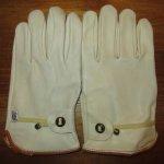 画像2: デッドストック Justin ジャスティン レザー グローヴ 手袋 パッケージ付き 80's / 150117 (2)