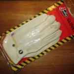画像1: デッドストック Justin ジャスティン レザー グローヴ 手袋 パッケージ付き 80's / 150117 (1)